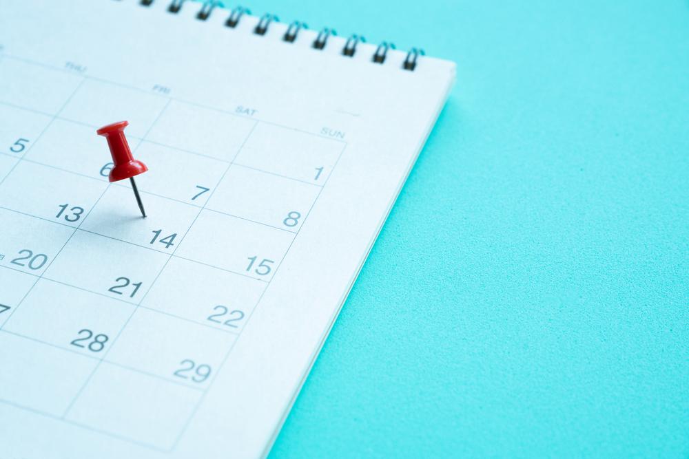 Como montar um calendário de datas importantes para a sua loja de colchões?